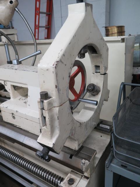 "Lion C11MT 20"" x 46"" Geared Head Gap Bed Lathe s/n 17047 w/ 19-2400 RPM, Taper Attachment, - Image 13 of 16"