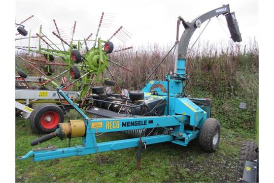 2009 reco mengele sh40 trailed forage harvester serial no 285738 rh bidspotter eu