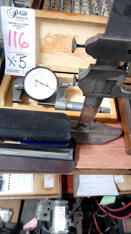 CALIPERS / MICROMETERS / GAGE / ETC.