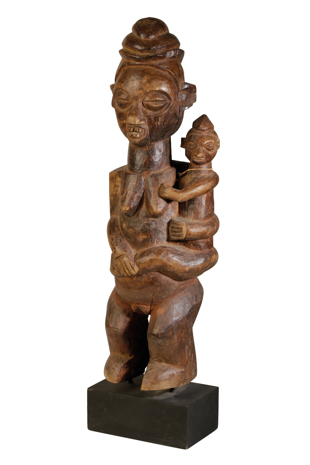 Lot 105 - FINE WOODEN YAKA MATERNITY FIGURE