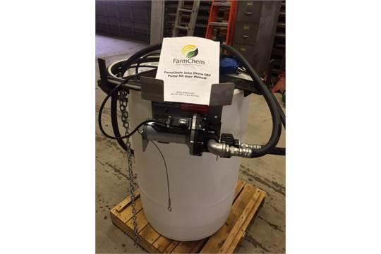 Farmchem John Deere DEF Pump with 55 Gallon Drum