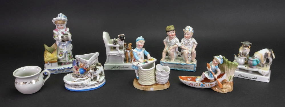 Lot 29 - A collection of seven fairings, including: Ready To Start, Let Us Do Business Together, The Orphans,
