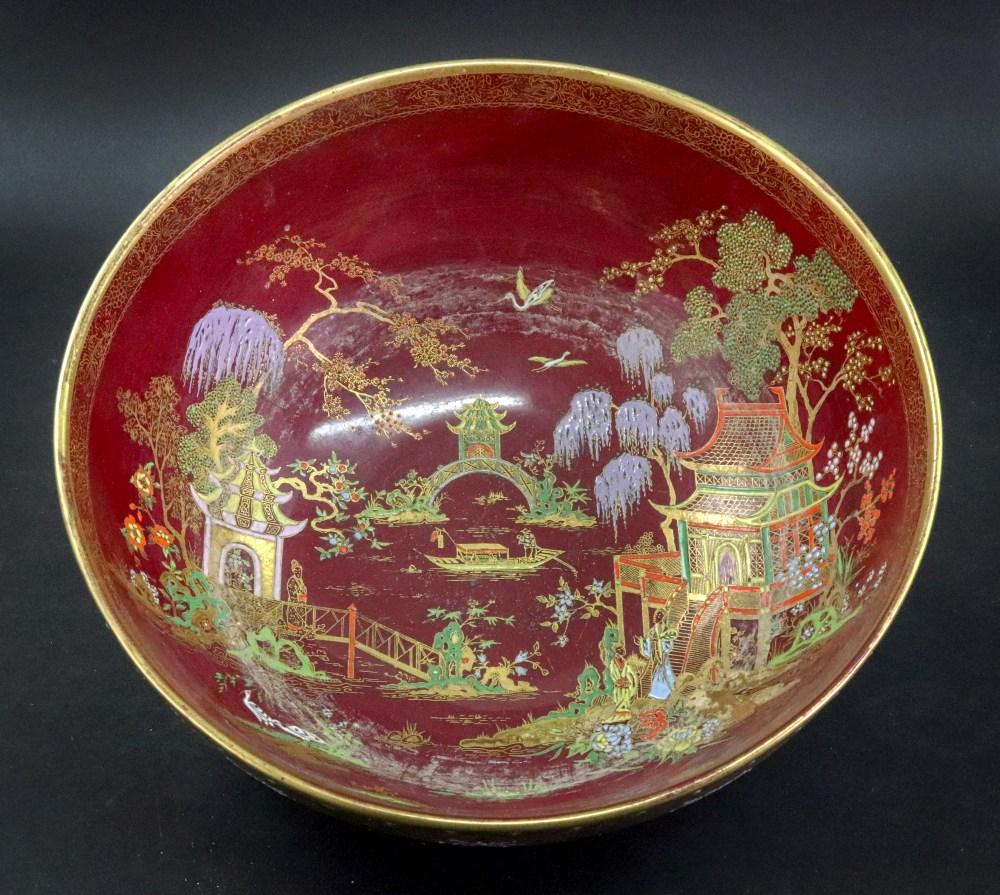 Lot 42 - A Carlton Ware bowl,