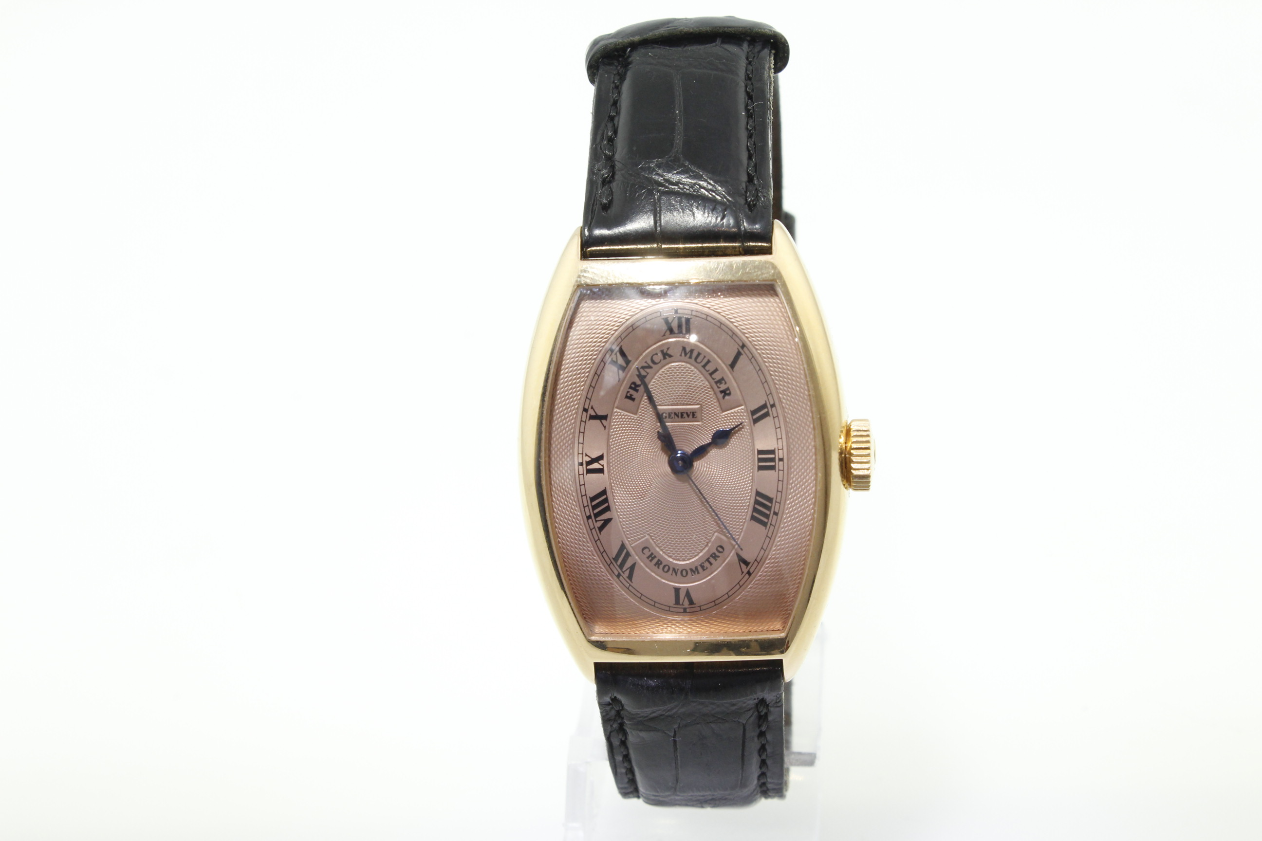 Lot 11 - FRANK MULLER - An Automatic rose gold gents Frank Muller Chronometro Master Of Complications