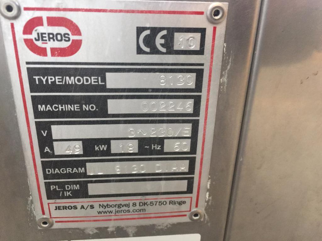 Lot 108 - Jeros COP wash cabinet, machine # 002246. ** Rigging Fee: $ 100 ** (Located in: Ogden, UT)