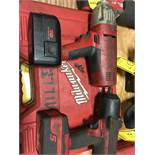 MILWAUKEE 18-VOLT 1/2'' IMPACT WRENCH & SNAP ON 1/2'' CORDLESS IMPACT WRENCH