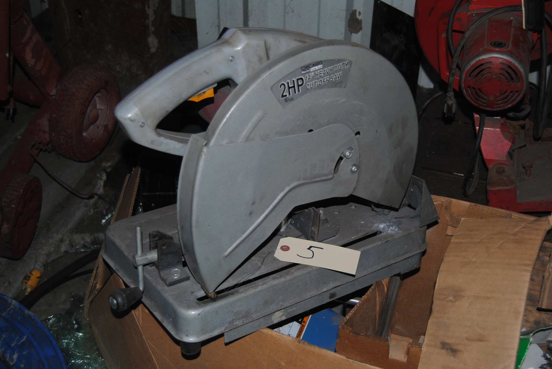 Lot 5 - Chicago Electric Chop saw