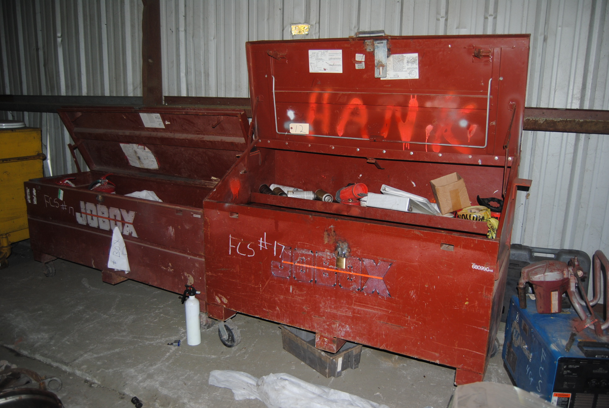 Lot 12 - Jobox Toolboxes