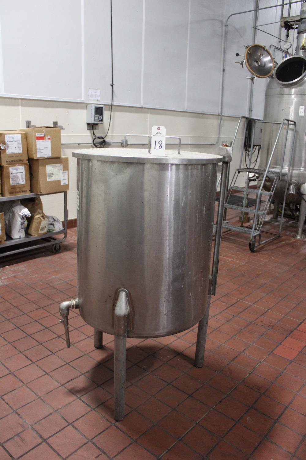 "Lot 18 - Stainless Steel Tank, 30"" X 35"" Deep 