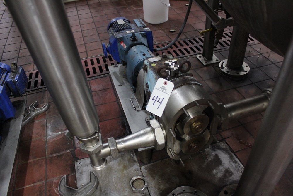 Lot 44 - Waukesha M# 130 Positive Displacement Pump Skid, S/N 102531 | Subj to Bulk | Rig Fee: $125