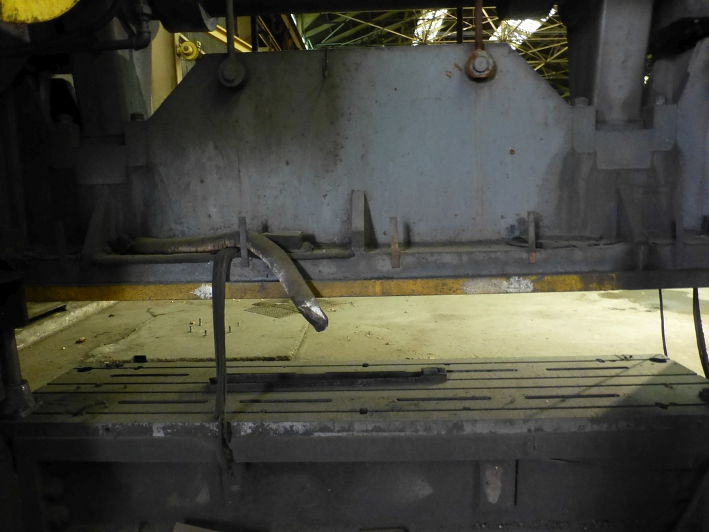 """Beatty 500-Ton Mechanical Press