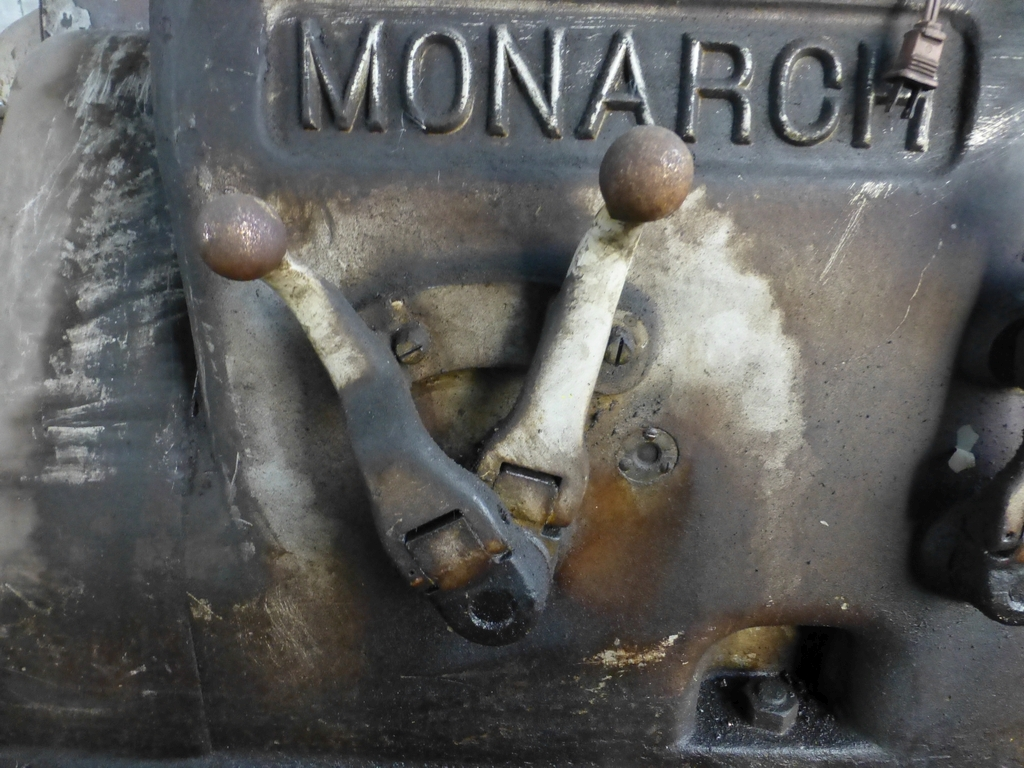 """Monarch 40"""" x 204"""" Engine Lathe Model No. 32NN; With Taper Attachment; 40"""" Actual Swing; 12"""" 3-Jaw - Image 5 of 19"""