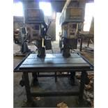 "Alzmetal 2-Spindle Drill Press|Type AX4/SV; 10"" Throat"
