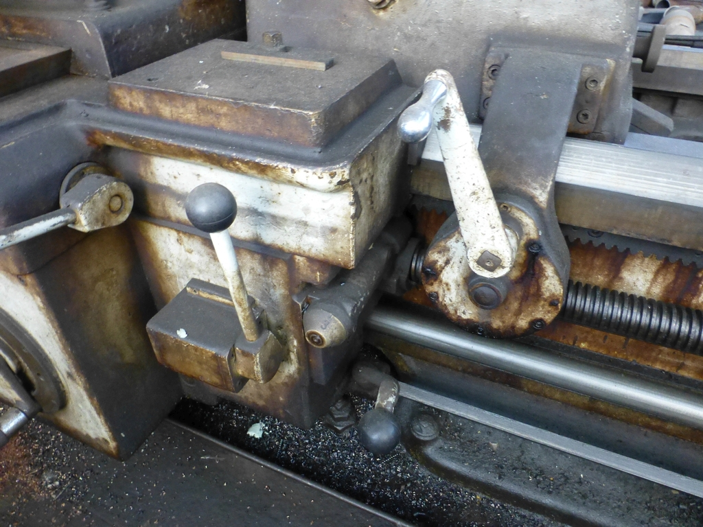 """Monarch 40"""" x 204"""" Engine Lathe Model No. 32NN; With Taper Attachment; 40"""" Actual Swing; 12"""" 3-Jaw - Image 17 of 19"""