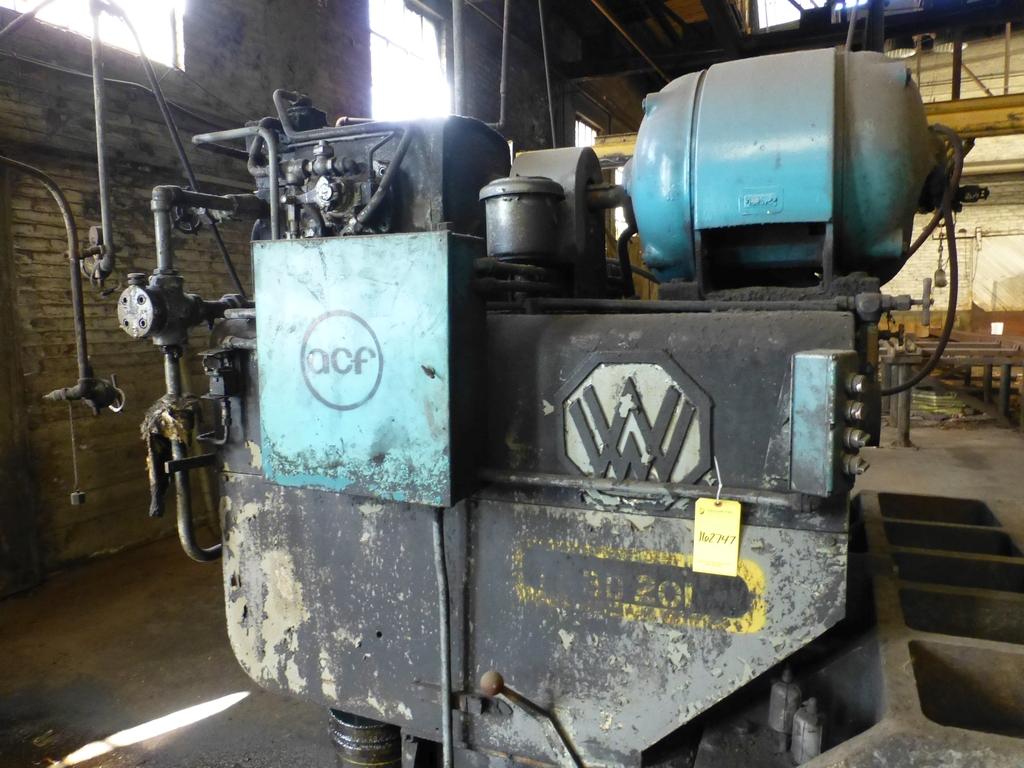 "Williams & White 100 Ton Hydraulic Bulldozer|12"" x 60"" Cross Head; S/N: 0-3154 - Image 6 of 16"