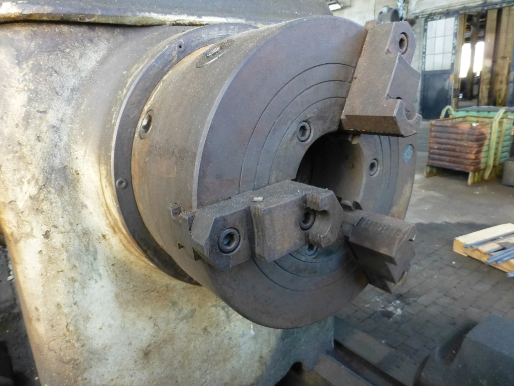 """Monarch 40"""" x 204"""" Engine Lathe Model No. 32NN; With Taper Attachment; 40"""" Actual Swing; 12"""" 3-Jaw - Image 8 of 19"""