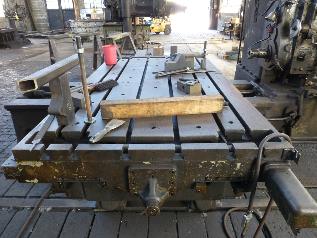 "Giddings & Lewis 350-T 3"" Horizontal Boring Mill