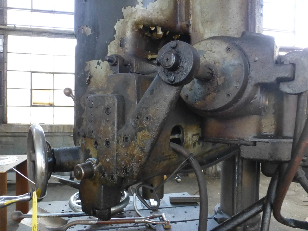 Fosdick 3' Radial Arm Drill|20-1,264 RPM - Image 8 of 12
