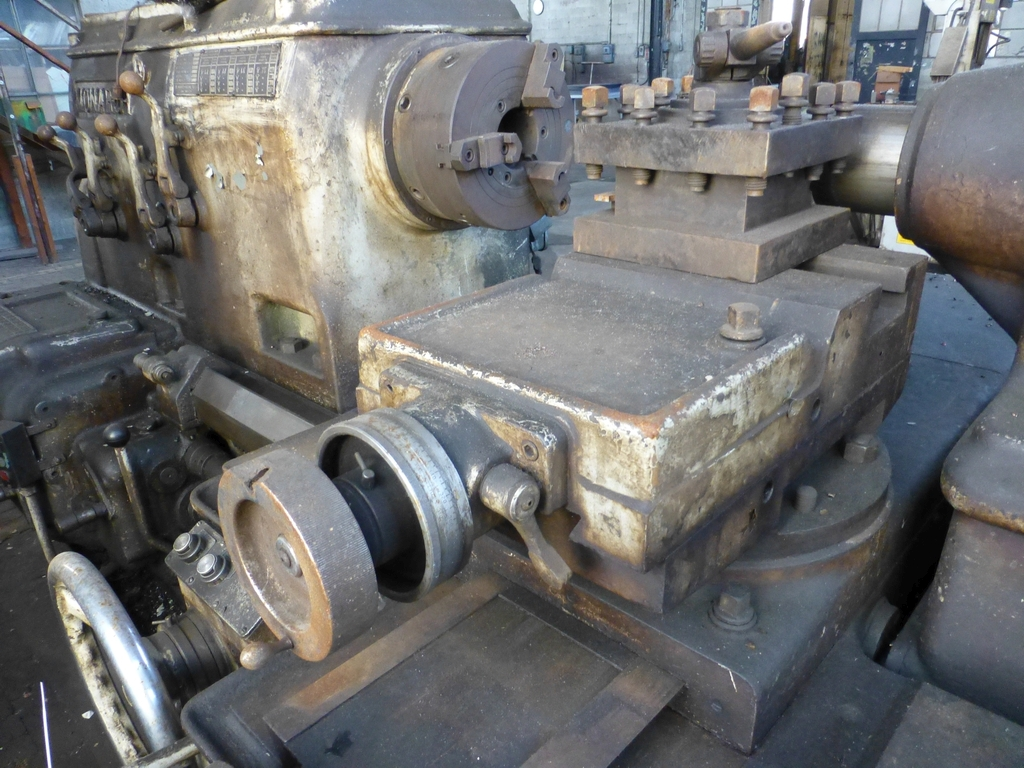"""Monarch 40"""" x 204"""" Engine Lathe Model No. 32NN; With Taper Attachment; 40"""" Actual Swing; 12"""" 3-Jaw - Image 11 of 19"""