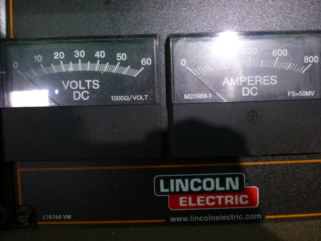 Lincoln Idealarc DC 600 Multi-Process Welder With LF-74 Wire Feed - Image 4 of 12