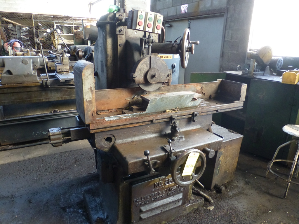 "Gallmeyer & Livingston #35 Automatic Surface Grinder|6"" x 18""; Includes Permanent Mag Chuck"