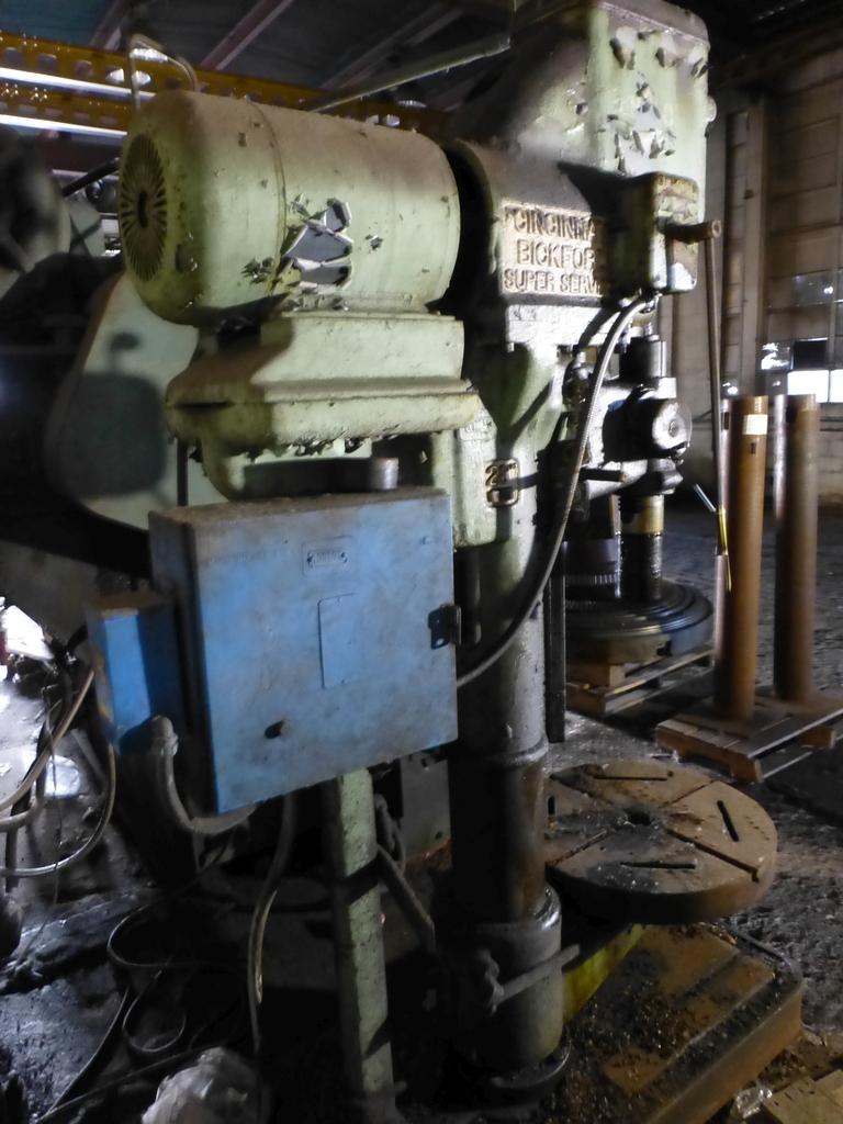 "Cincinnati Bickford 27"" Geared Head Drill - Image 5 of 8"