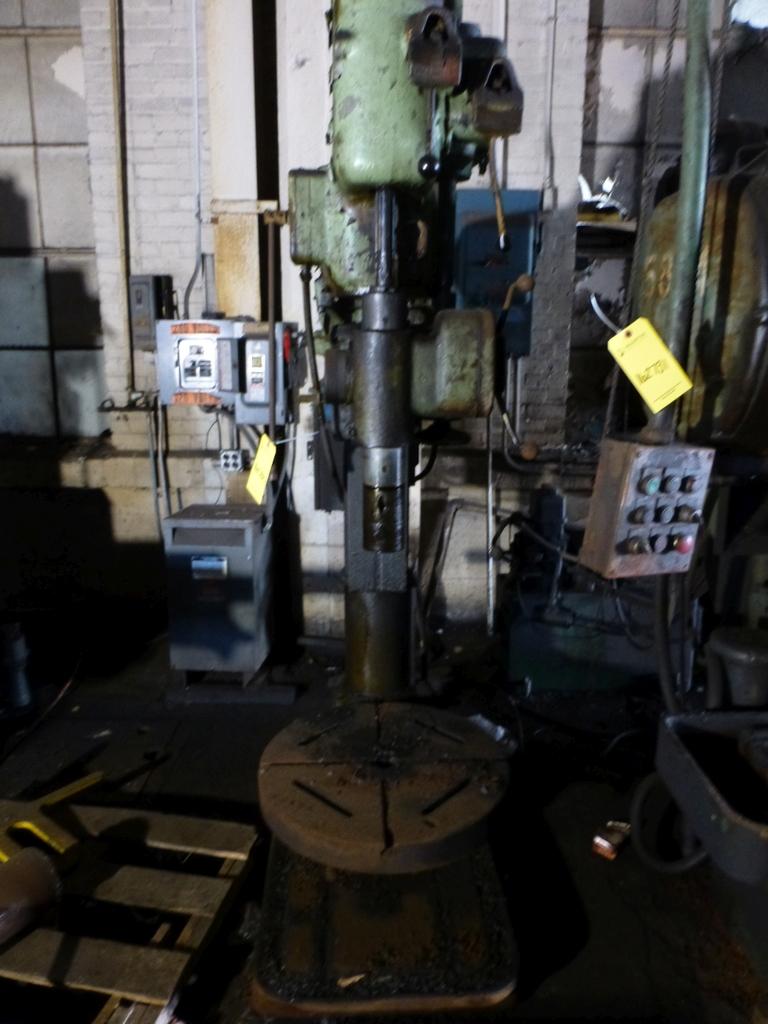"Cincinnati Bickford 27"" Geared Head Drill - Image 2 of 8"