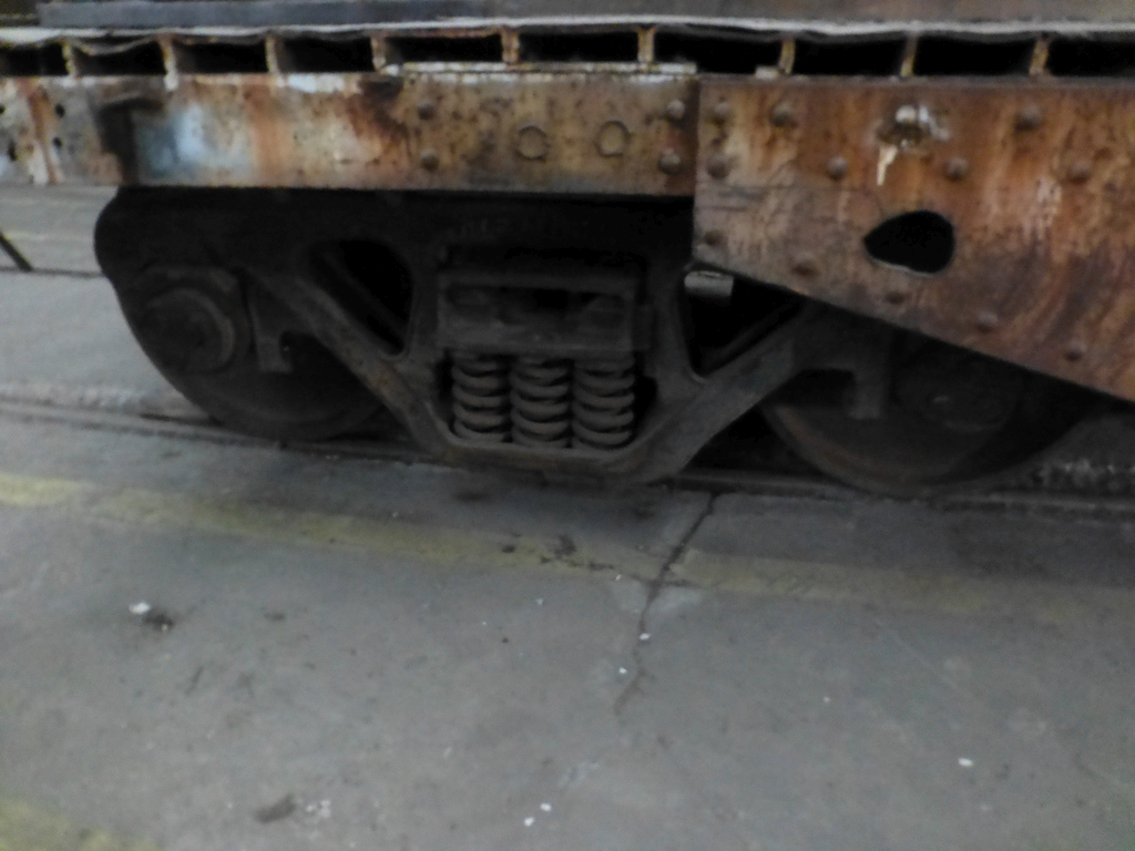 32' Flatbed Material Transport Rail Car 9' Wide - Image 9 of 9