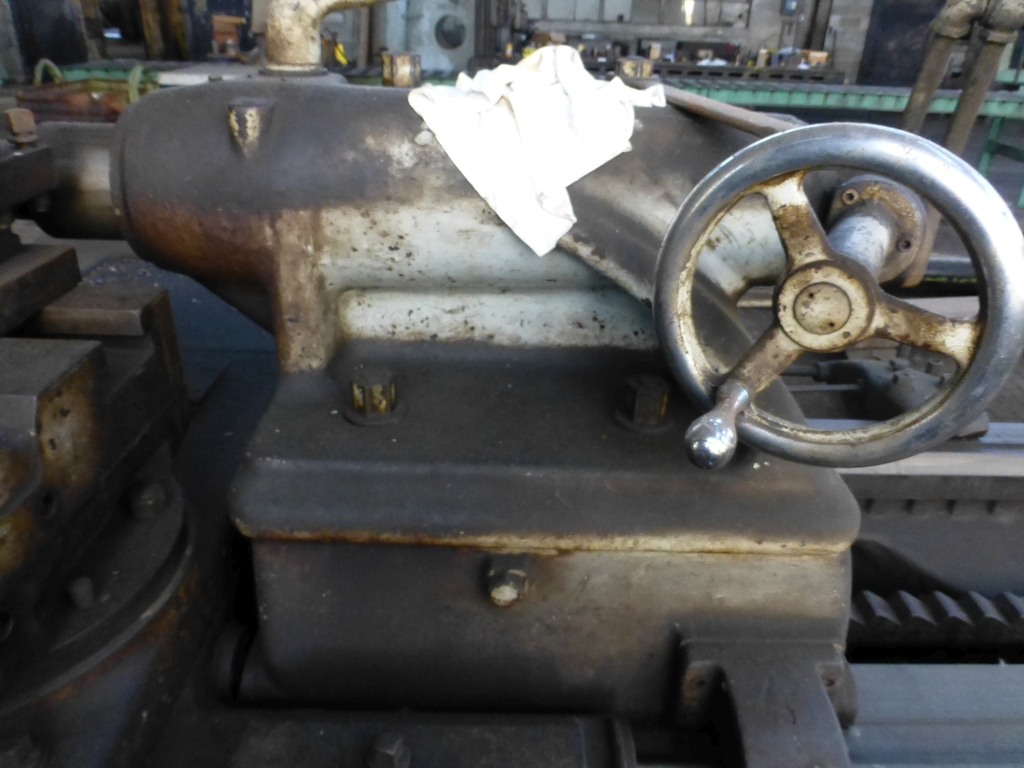 """Monarch 40"""" x 204"""" Engine Lathe Model No. 32NN; With Taper Attachment; 40"""" Actual Swing; 12"""" 3-Jaw - Image 15 of 19"""