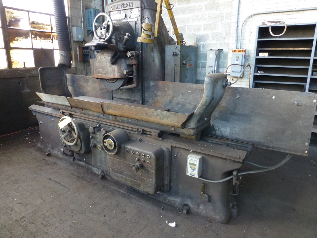 """Mattison 60"""" Automatic Surface Grinder