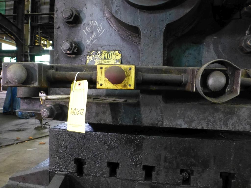 "Williams White Mechanical 500 Ton C-Frame Punch 50"" x 55"" Platen; S/N C-3848 - Image 10 of 10"