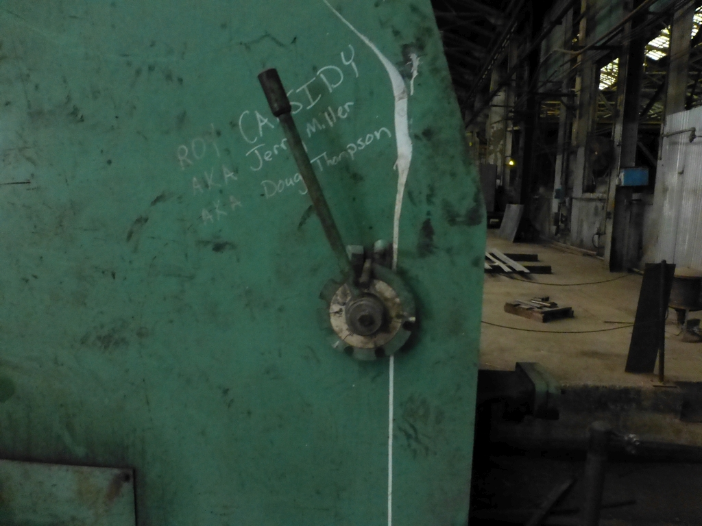 """Accurshear 10' x 1/2"""" Hydraulic Shear