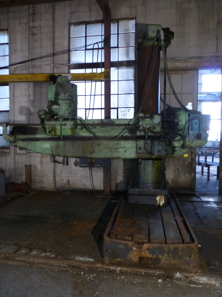 Cincinnati Bickford 8' Radial Arm Drill