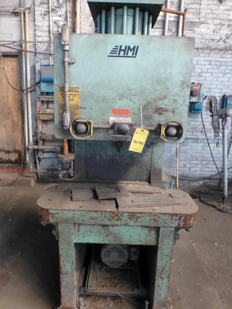 "HMI 150 Ton Hydraulic Press|Model PJP11814 S/N:101-47-138; 14"" Throat - Image 2 of 8"