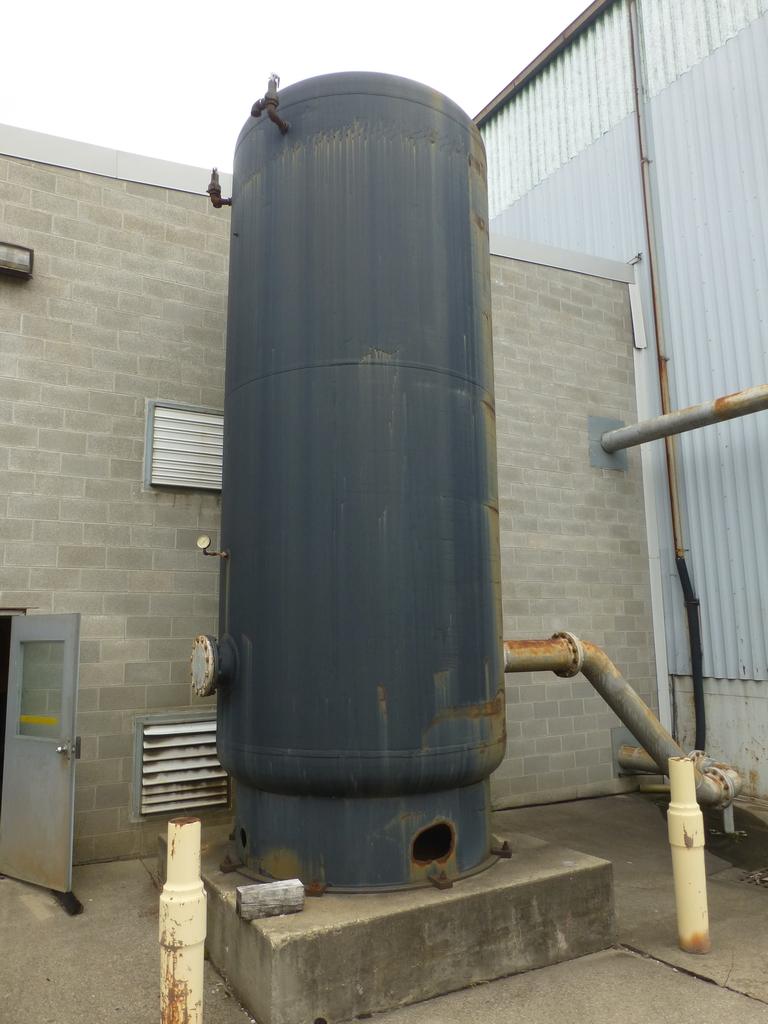 Adamson Air Storage Tank|Max Pressure: 150 PSI; Nat'l Board No. 53613; Approx. 7' Dameter x 16' - Image 2 of 7