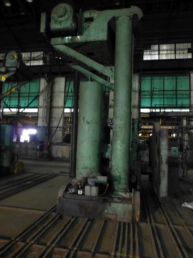 Pandjiris Railcar Rotator/Tandem Welding Positioner for Rail Car Repair Includes: (1) Master