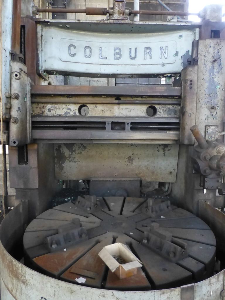 """Colburn 72"""" Vertical Boring Mill