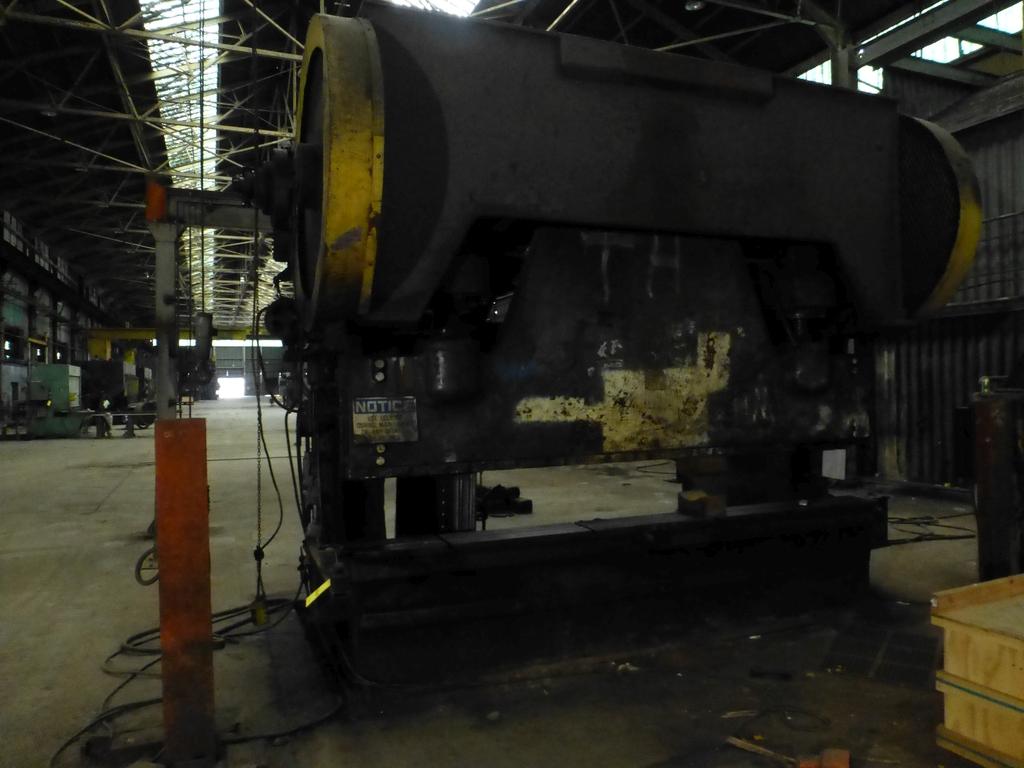 "Steelweld Mechanical Brake/Punch|Model: MO6-10; S/N: M-915; 12' 6""' LOA - 10' 6"" Between Housings;"