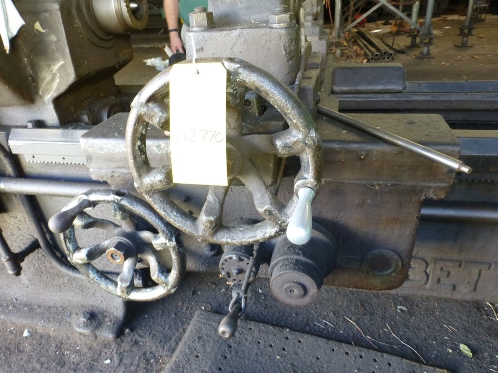 Betts Twin Carriage Axle Lathe|S/N E6417 - Image 10 of 10