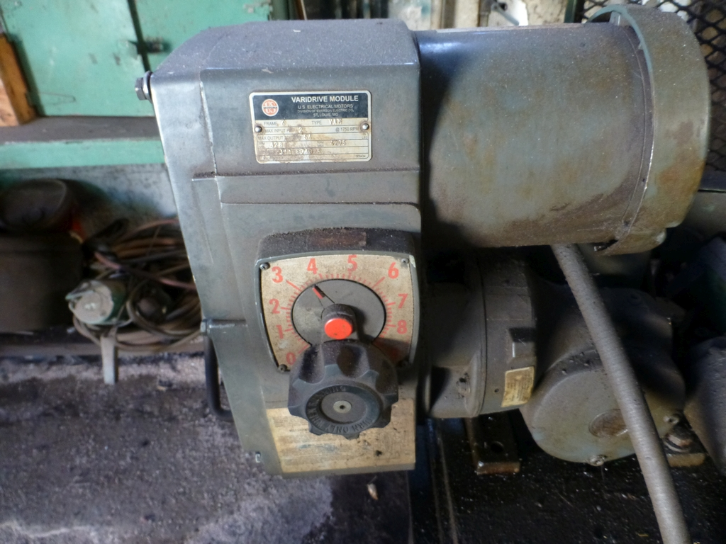 Landis Type R Centerless Grinder| Arranged as a Rail Car Axle Grinder - Image 4 of 8