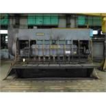 "Steelweld 12' x 1"" Mechanical Shear|Model No. 16F-12; Rear Operated Manual Back Gauge; S/N: M-"