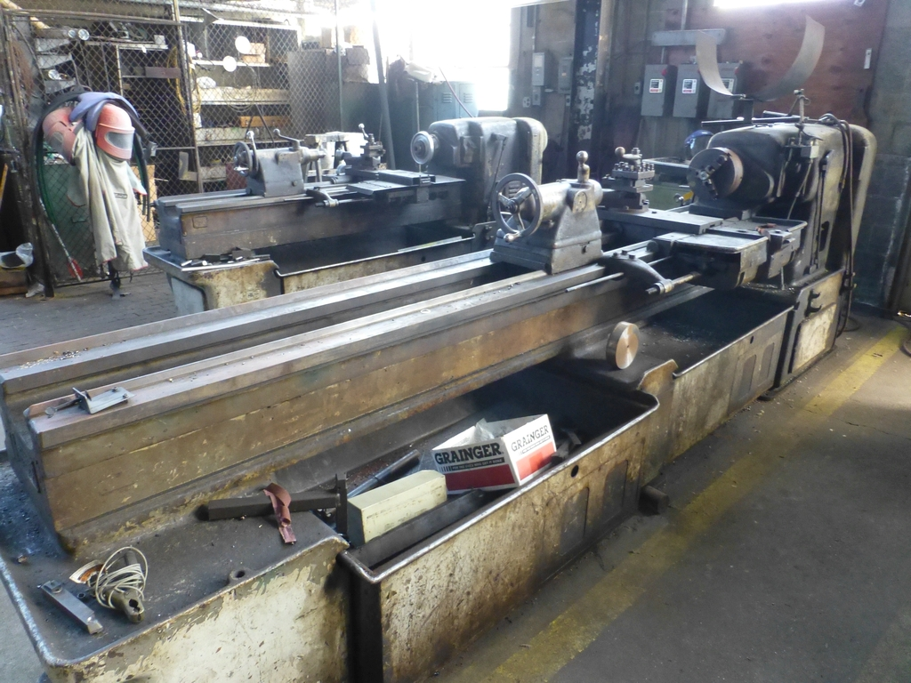 """Monarch 16"""" x 102"""" Engine Lathe With Taper Attachment; 10"""" 3-Jaw Chuck; 19-800 RPM; S/N 43077 - Image 2 of 11"""