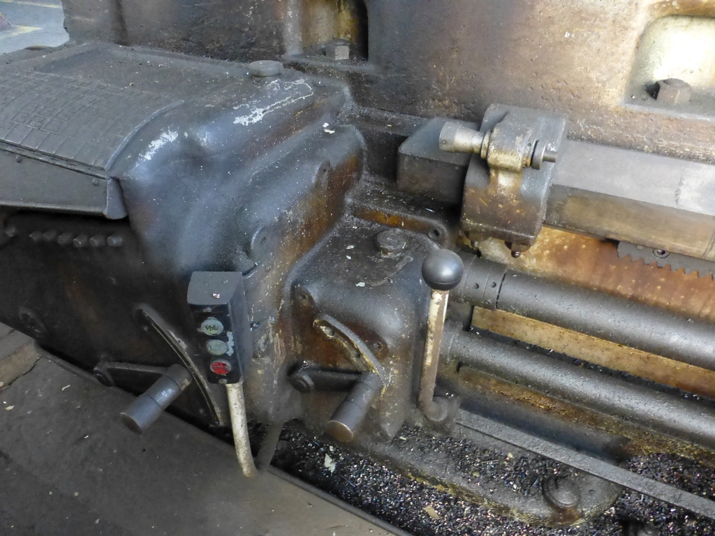"""Monarch 40"""" x 204"""" Engine Lathe Model No. 32NN; With Taper Attachment; 40"""" Actual Swing; 12"""" 3-Jaw - Image 7 of 19"""