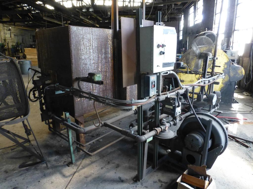 "Ajax 2"" Upsetter Machine No. 5261-R; 9 1/2"" Stroke; 3 1/2"" Gather - Image 3 of 22"