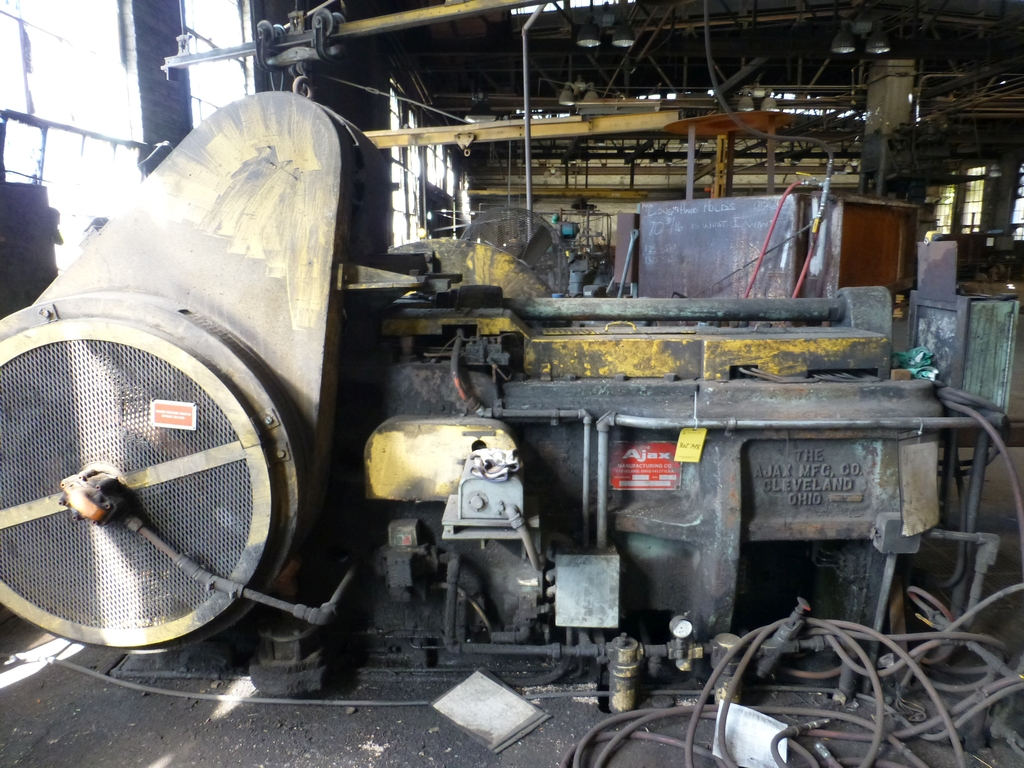 "Ajax 2"" Upsetter Machine No. 5261-R; 9 1/2"" Stroke; 3 1/2"" Gather - Image 14 of 22"