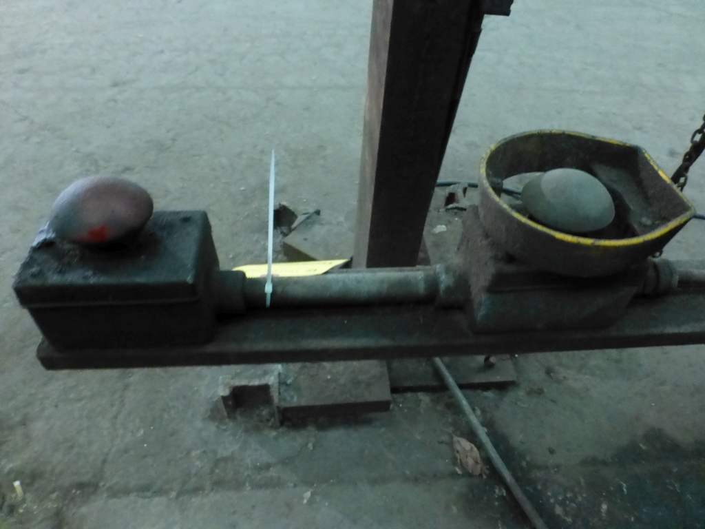 "Steelweld Mechanical Brake/Punch|Model: MO6-10; S/N: M-915; 12' 6""' LOA - 10' 6"" Between Housings; - Image 11 of 11"