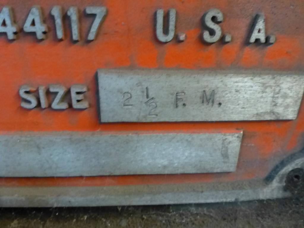 "Ajax 2-1/2"" Header Size 2-1/2 FWN; Machine No. 5284 9 1/2"" Stroke - Image 16 of 20"