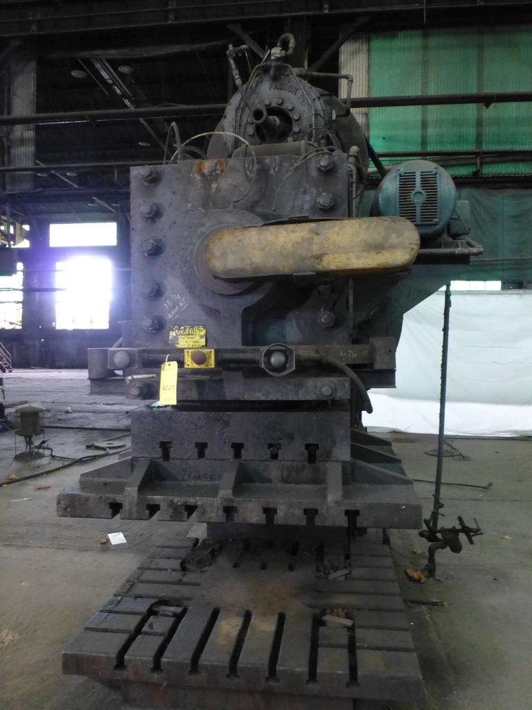 "Williams White Mechanical 500 Ton C-Frame Punch 50"" x 55"" Platen; S/N C-3848 - Image 3 of 10"