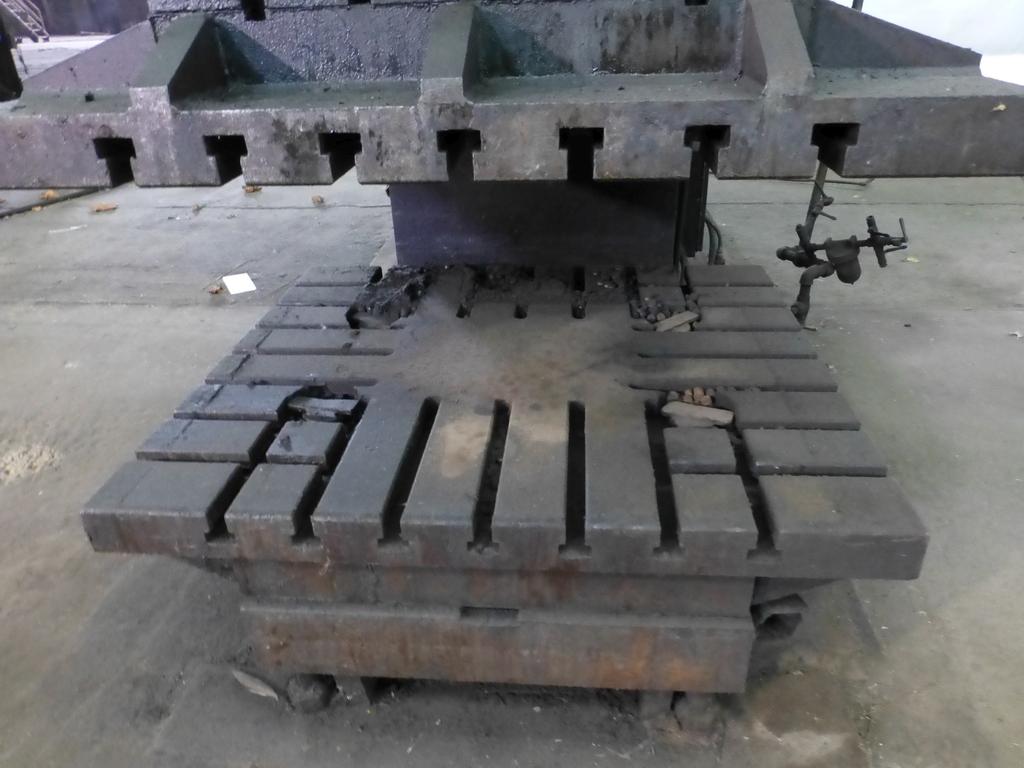 "Williams White Mechanical 500 Ton C-Frame Punch 50"" x 55"" Platen; S/N C-3848 - Image 4 of 10"