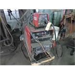 Lincoln Idealarc DC 600 Multi-Process Welder|With LF-74 Wire Feed